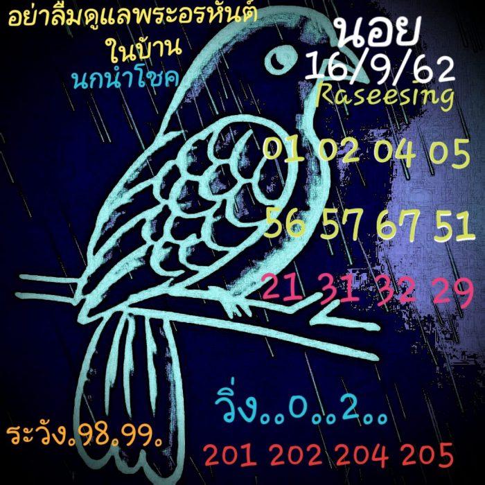 แนวทางหวยฮานอย 16/9/62