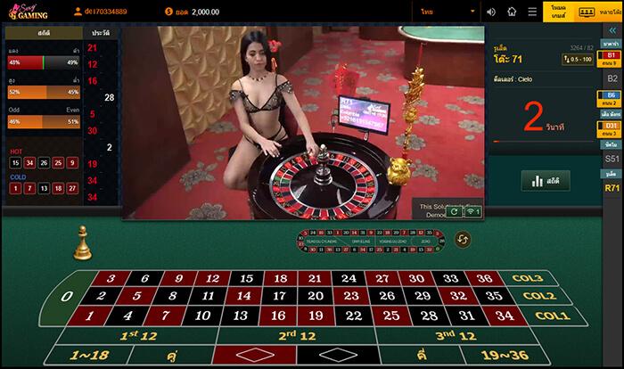 คาสิโนสด Sexy Gaming